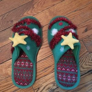 Shoes - Target ugly Christmas slippers